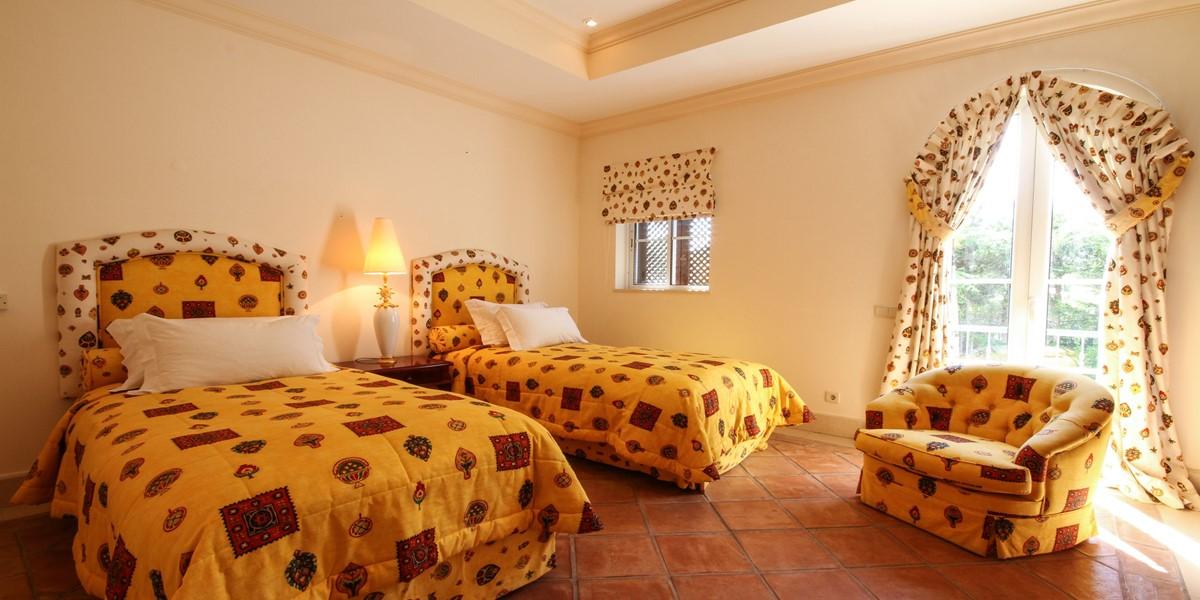 Twin Bedroom Vacation Rental Villa Quinta Do Lago
