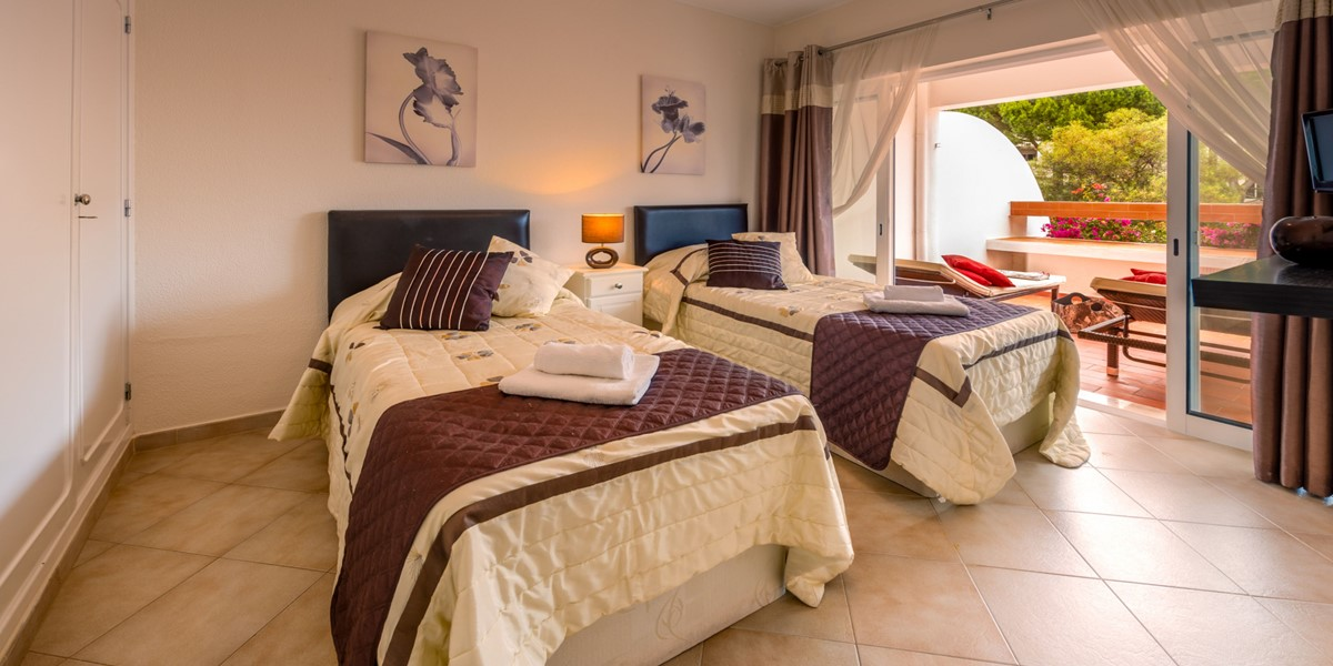 Comfortable Twin Bedroom Vale Do Lobo