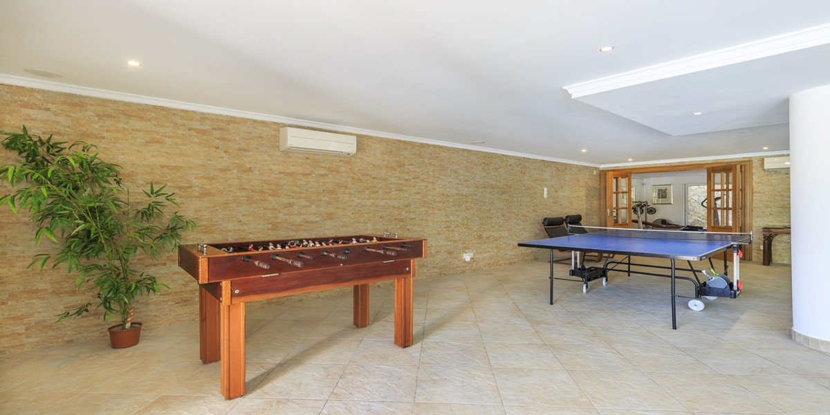Games Area Holiday Villa Rental Quinta Do Lago