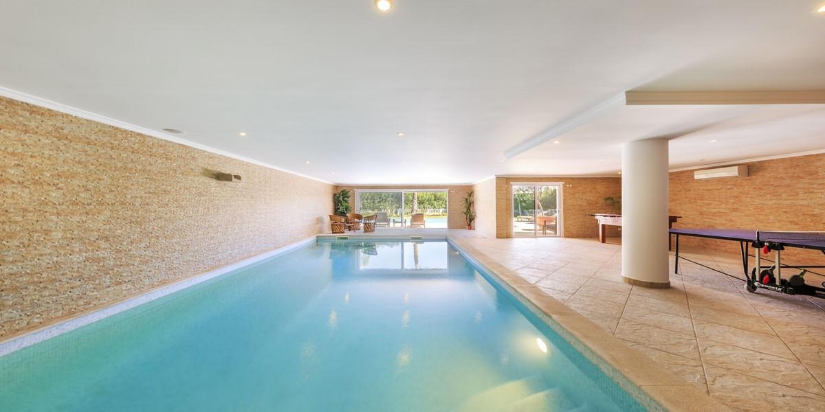 Heated Indoor Swimming Pool Quinta Do Lago