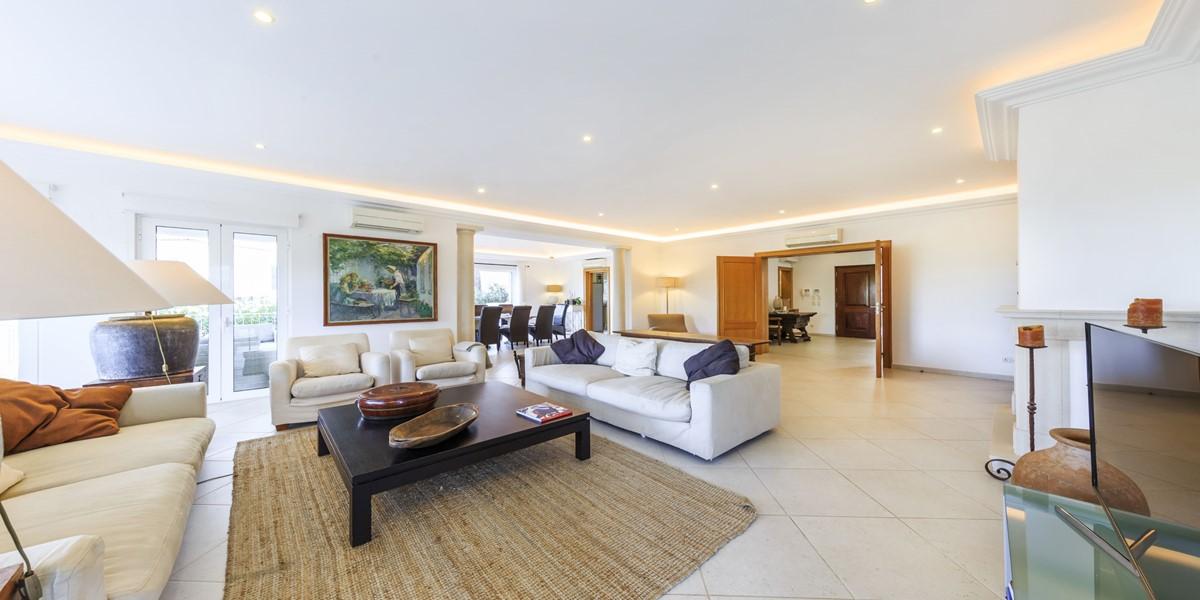 Luxury Living Room Holiday Villa Rental Quinta Do Lago