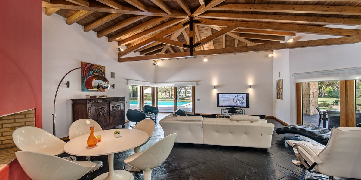 Comfortable Living Room Vacation Rental Villa Vilamoura