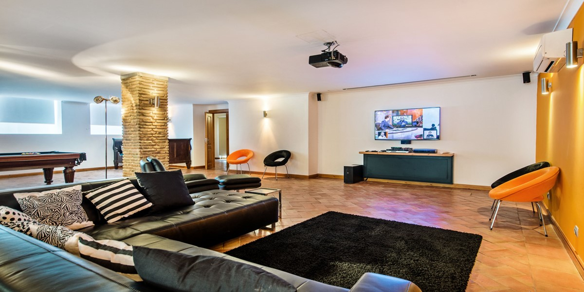 Games Room Holiday Rental Villa Vilamoura