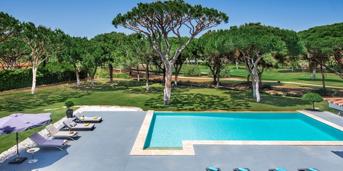 Large Private Swimming Pool Vacation Rental Villa Vilamoura