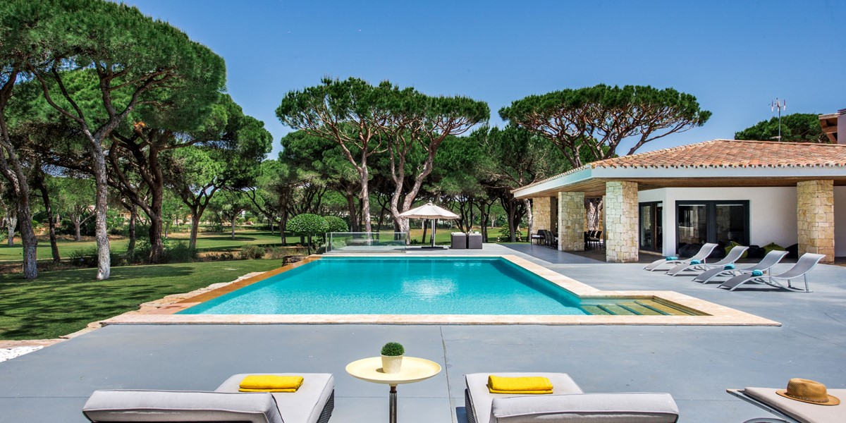 Large Private Swimming Pool Vacation Villa Rental Vilamoura