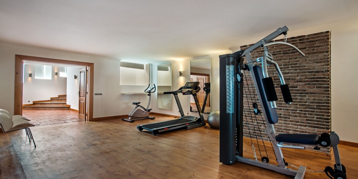 Luxury Gym Vacation Villa Rental Vilamoura