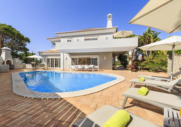5 Bedroom Comfortable Rental Villa Vale Do Lobo