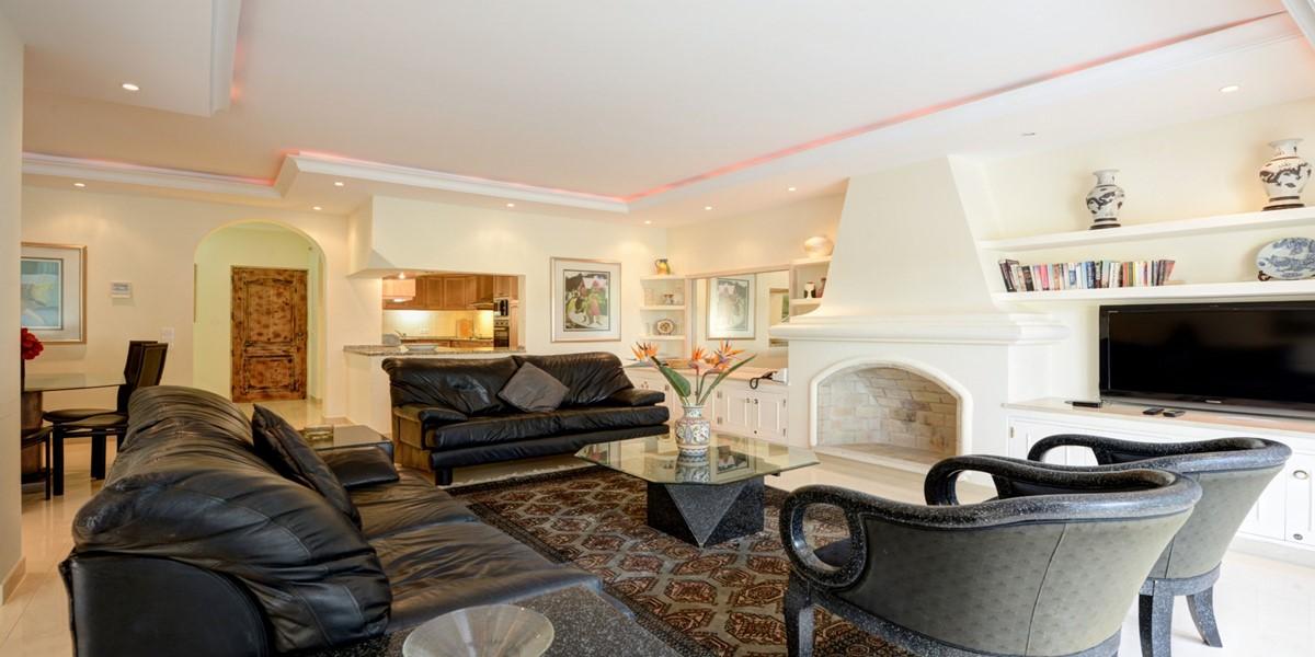 Comfortable Living Room Vacation Villa Rental Vale Do Lobo