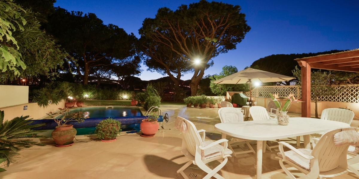 Exterior Dining Vacation Villa Rental Vale Do Lobo