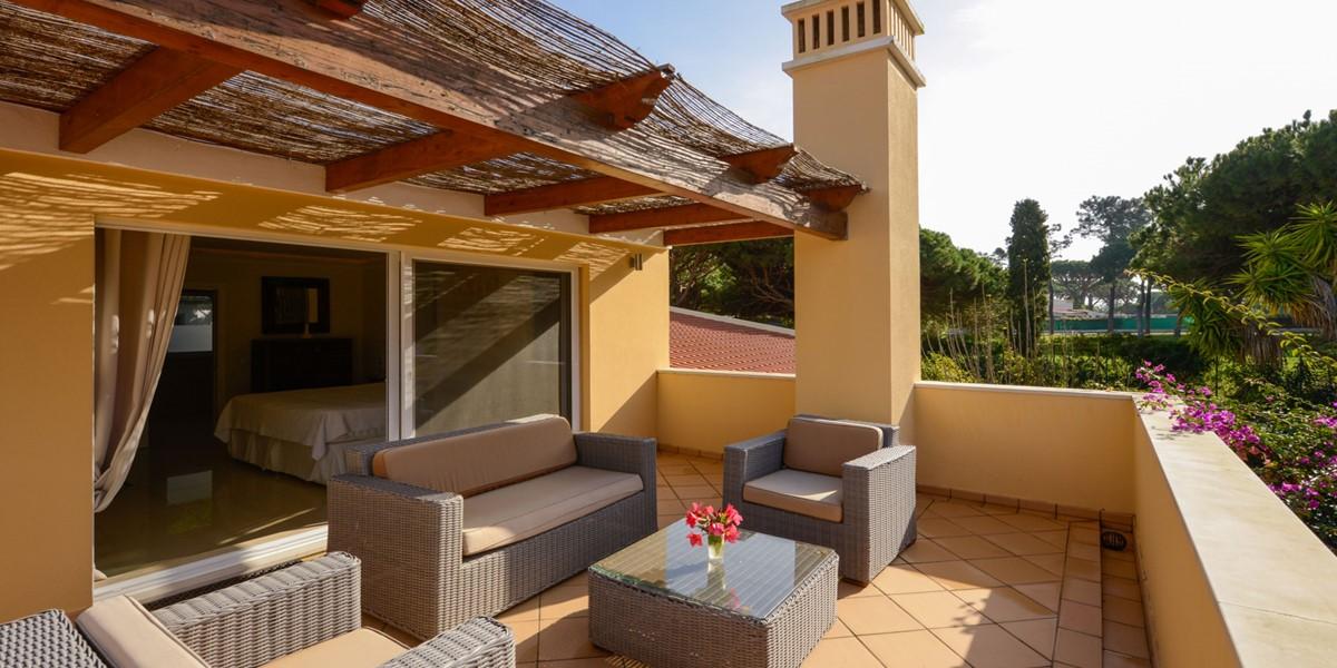 First Floor Terrace Holiday Villa Rental Vale Do Lobo