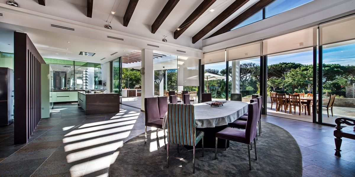 Large Dining Table To Seat 12 People In Vilamoura Vacation Property