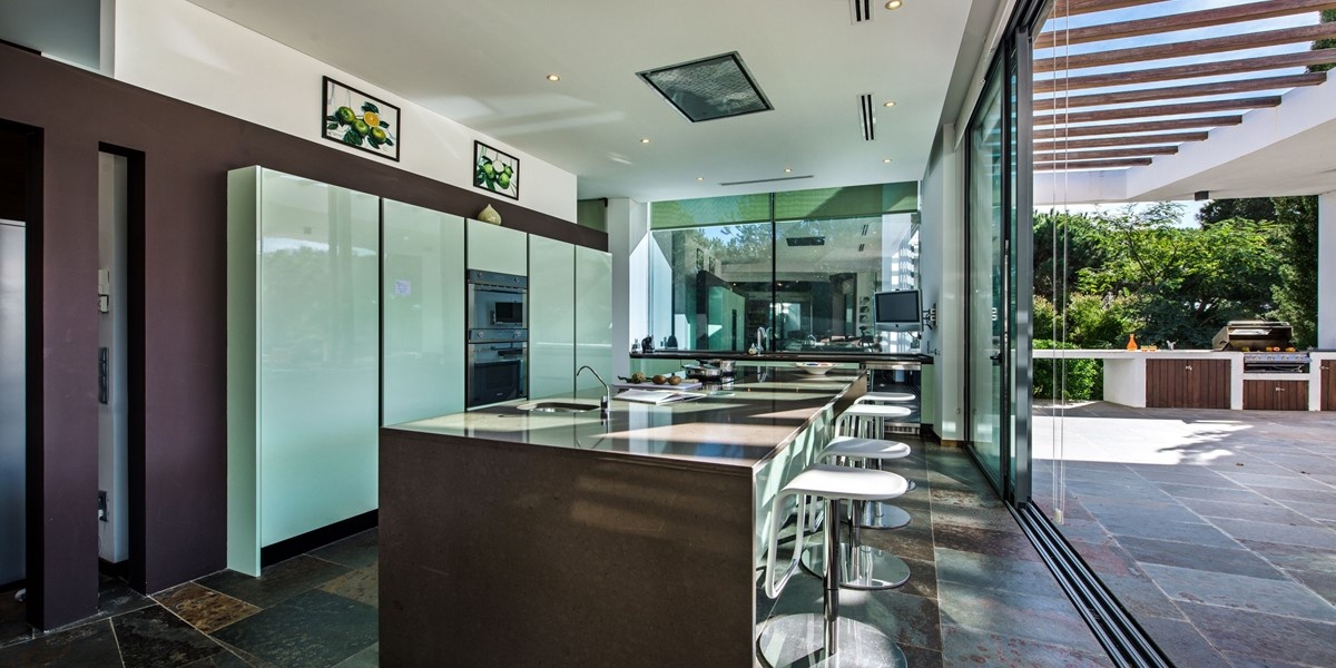 Luxury Kitchen In Vacation Villa Vilamoura