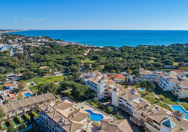 Albufeira Ariel view from Sao Vic