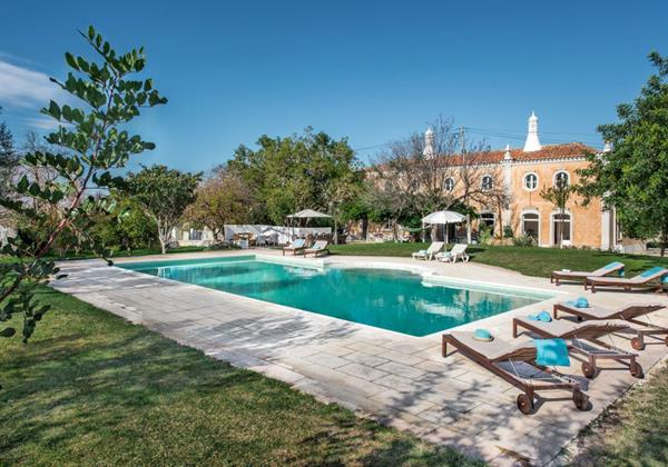 Luxury Algarve Manor House To Rent For Vacations